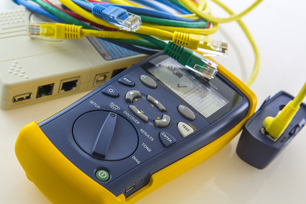 cables, ports, and meter